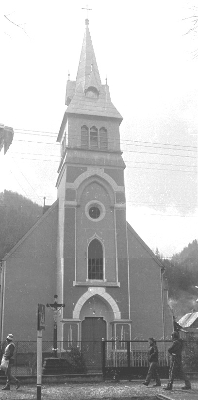 Костел в  Усть-Чорній